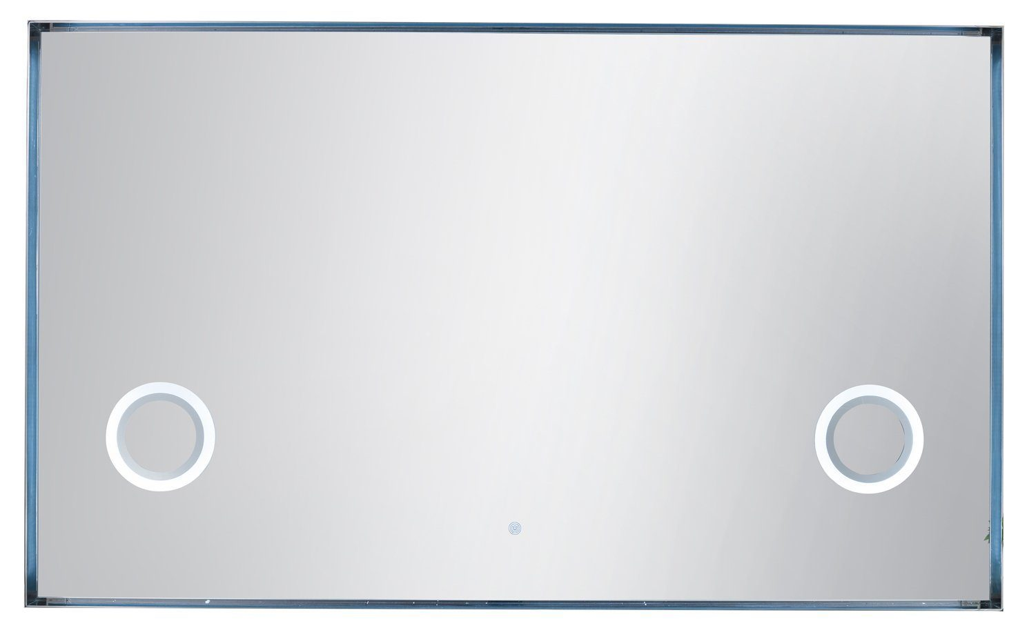 "Levitate 70"" Mirror, Plated Nickel 908-M70-PNK"
