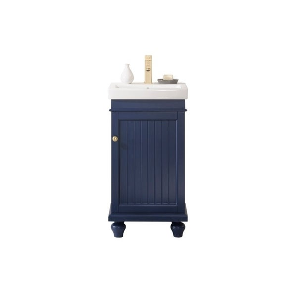 "Legion Furniture 18"" BLUE SINK VANITY WLF9318-B"