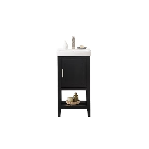 "Legion Furniture 18"" ESPRESSO SINK VANITY WLF9018-E"