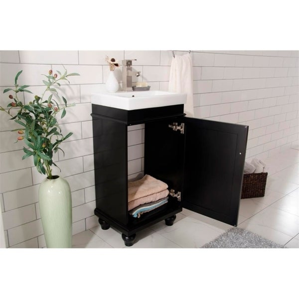 "Legion Furniture 18"" ESPRESSO SINK VANITY WLF9318-E"