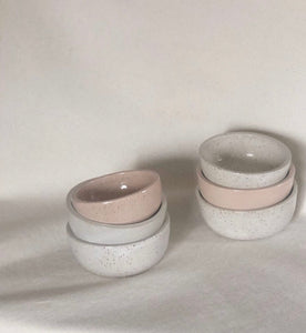 Set of 3 small stacking bowls