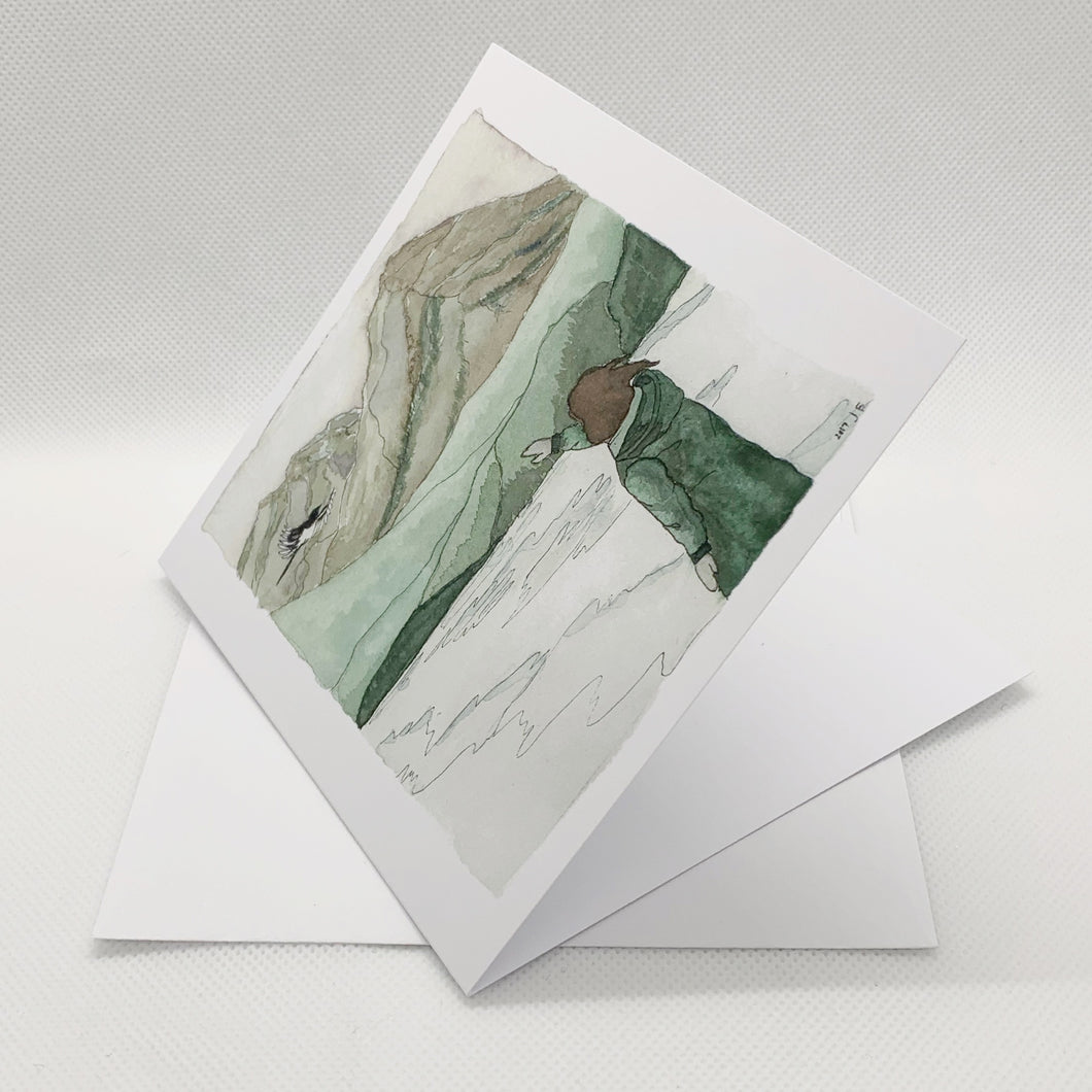 Mountains Greeting Card