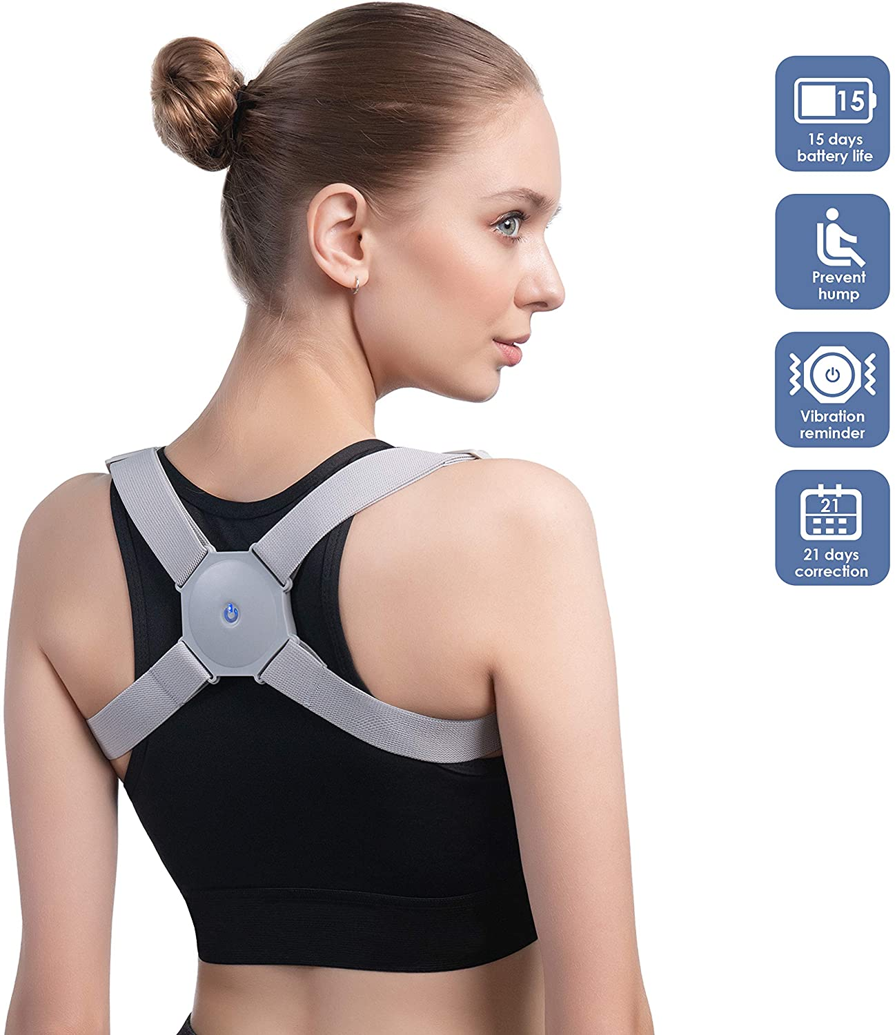 Unisex Automatic Posture Trainer and Posture Corrector