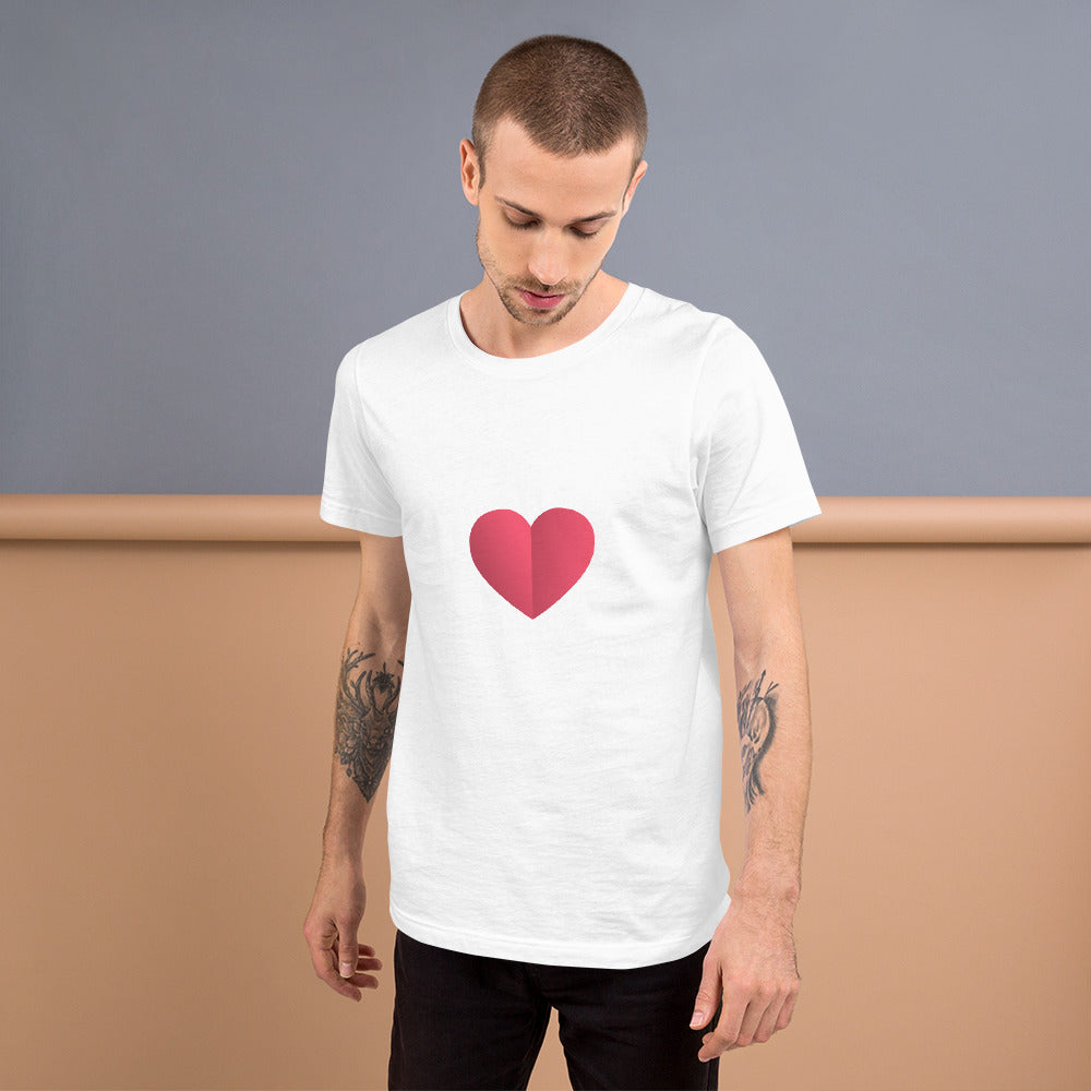 Daledon Short-Sleeve Unisex Love T-Shirt