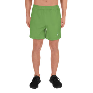 Open image in slideshow, Daledon Men's Athletic Long Shorts (Leaf Green)