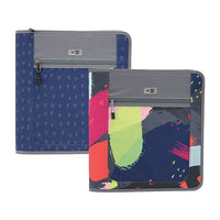 "1.5"" Hilroy Me-to-We Zippered Binder - Two Patterns"
