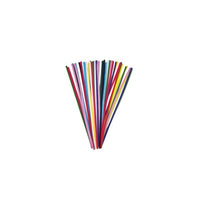 "12"" Pipe cleaners, assorted colours - 100 pack"