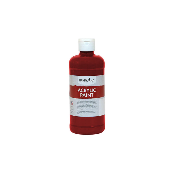 16 oz. Handy Art acrylic Paint - bright red