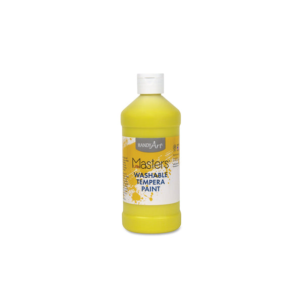 16 oz. Little Masters Tempera Paint - yellow