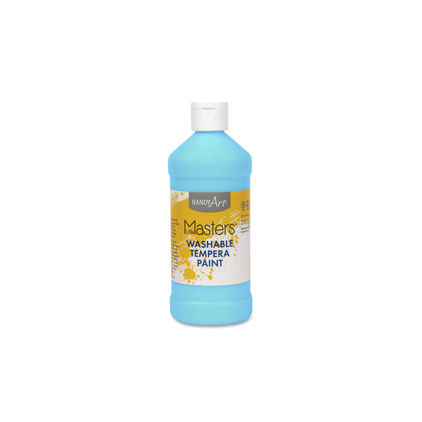 16 oz. Little Masters Tempera Paint - bright blue