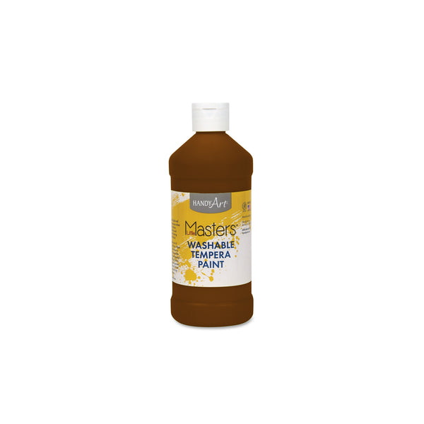 16 oz. Little Masters Tempera Paint - brown