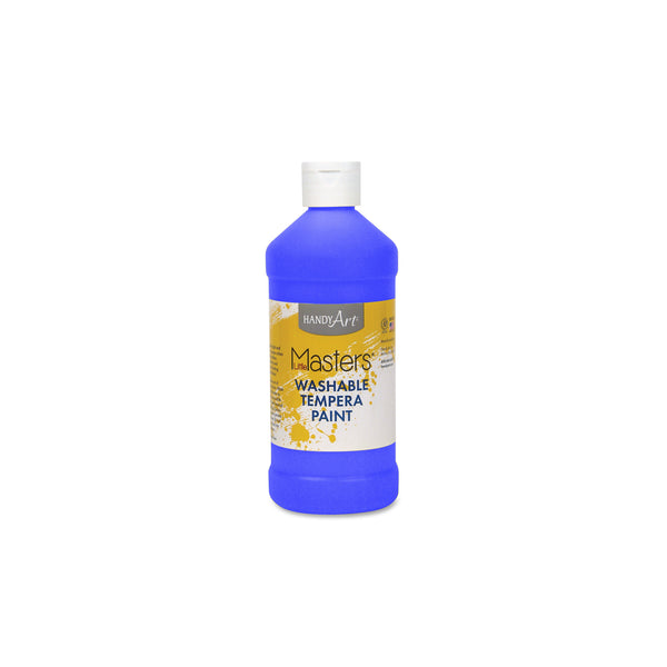16 oz. Little Masters Tempera Paint - cobalt blue