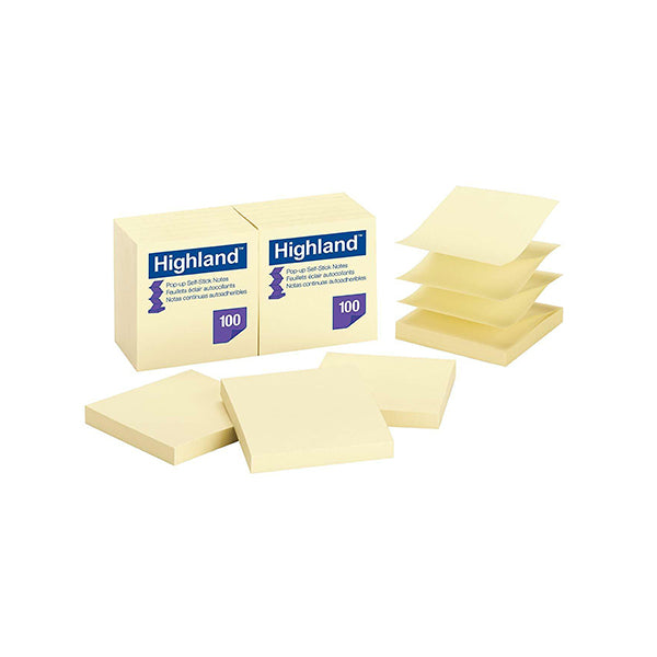 "3"" x 3"" Highland Post-it Notes - 100 notes"