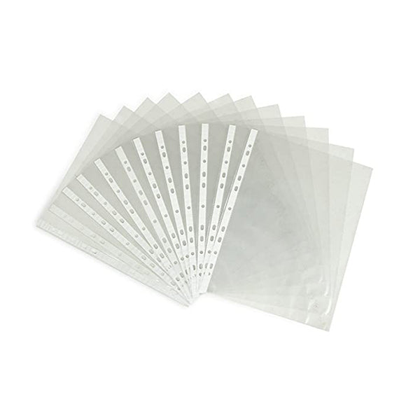 3 hole punched sheet protectors - 10 pk