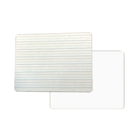 "9"" x 12"" Solid White board (interlined & Blank)"