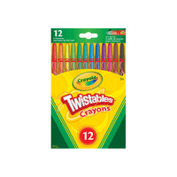 "Crayola ""twistable"" crayons - 12 pack"