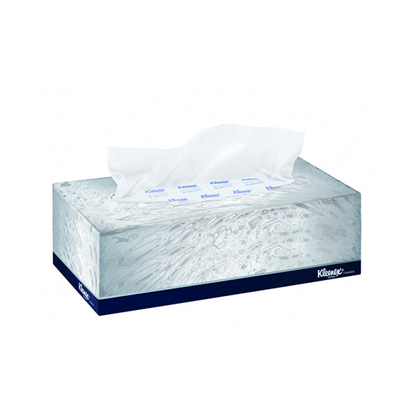 Kleenex 2 ply facial tissue - 100 box