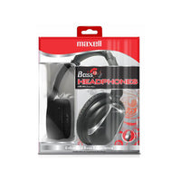 Maxell Base 13 Stereo Headphones with mic