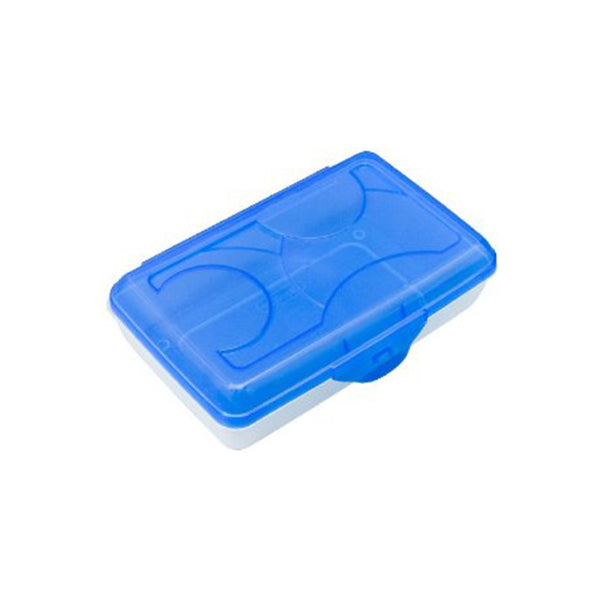 "Plastic high quality pencil box (8"" x 5"" x 2.5"")"