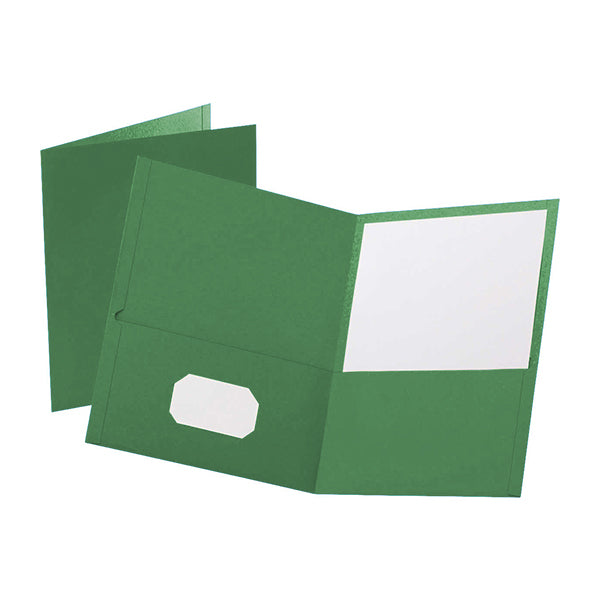 Prestige Twin pocket portfolios - Green