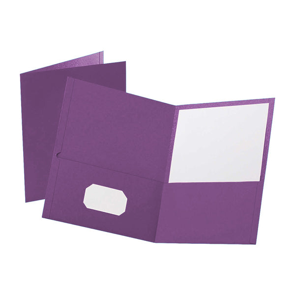 Prestige Twin pocket portfolios - Purple