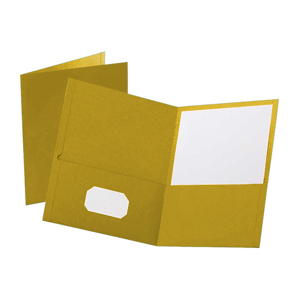 Prestige Twin pocket portfolios - Yellow
