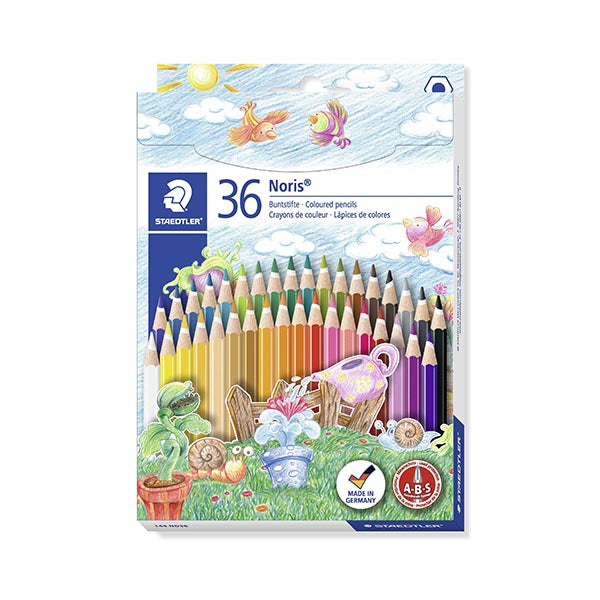 Staedtler high quality pencil crayons - 36 pk