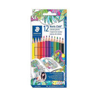 Staedtler pencil crayons - 12 pk
