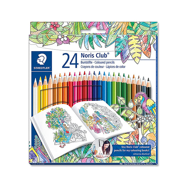 Staedtler high quality pencil crayons - 24 pk