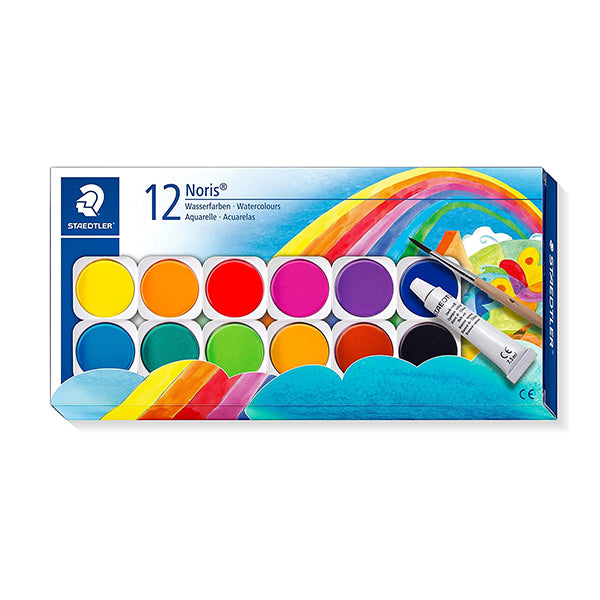 Staedtler watercolour set of 12