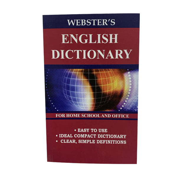 Webster's English dictionary - 256 pgs