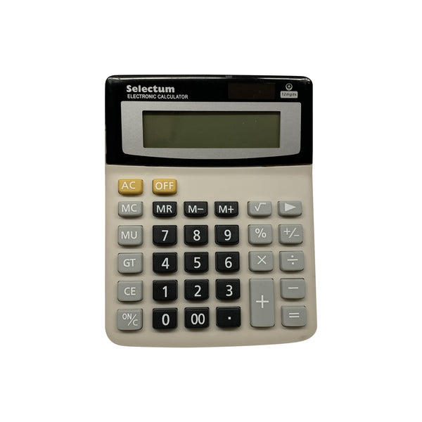 "Selectum 4"" x 6"" Desk top solar calculator"