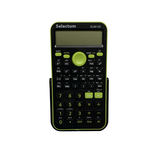 Selectum 10+2 digit scientific calculator