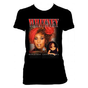 Whitney Greatest Love of All Tee