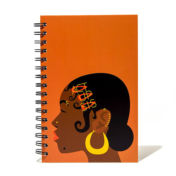 Act Up Sis Spiral Notebook