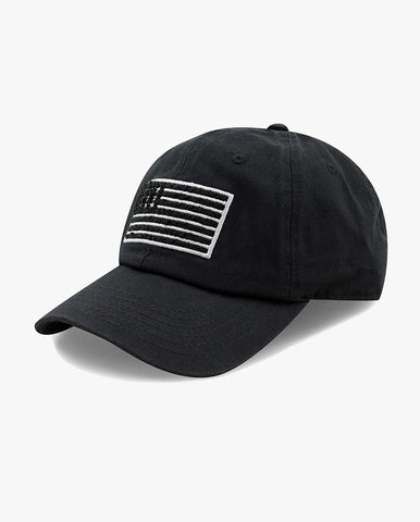 Cotton Low Profile USA flag Baseball Cap