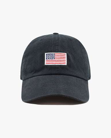 Embroidered USA Flag Baseball Cap