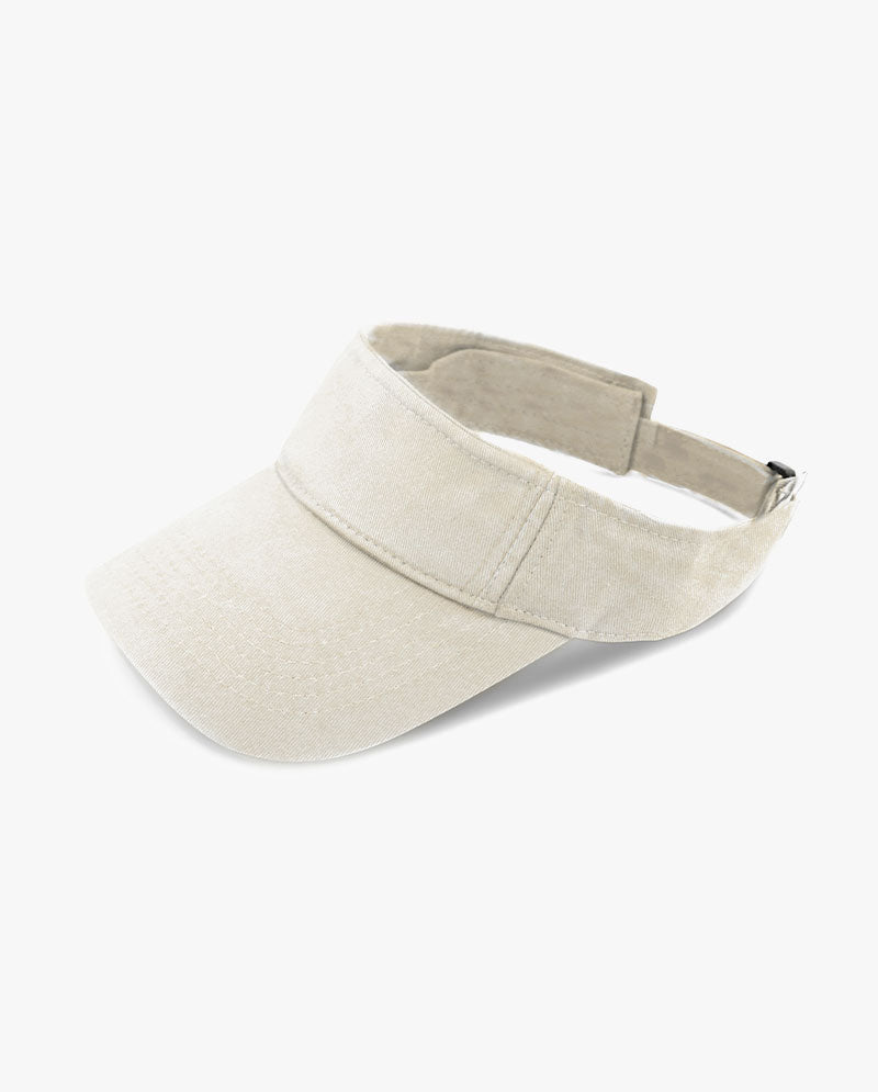 Sport Quick-adjust Strap Closure Pigment Cotton Visor