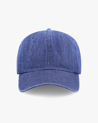 Basic Denim Cotton Cap