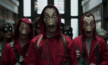 Load image into Gallery viewer, La casa de papel Costume Free Mask + Gloves