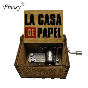 la casa de papel music box