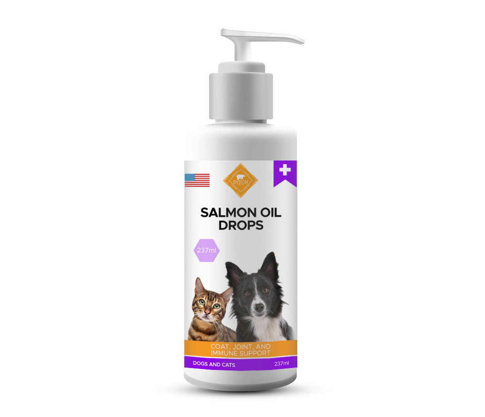 All Natural Wild Alaskan Salmon Oil Drops - 8 oz / 237 ml