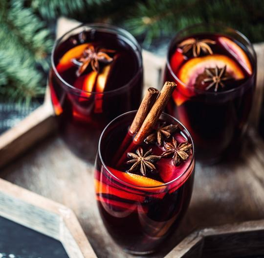 Chai Mulled Wine