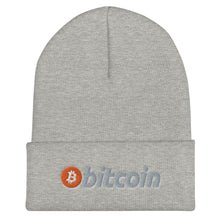 Load image into Gallery viewer, Bitcoin Beanie
