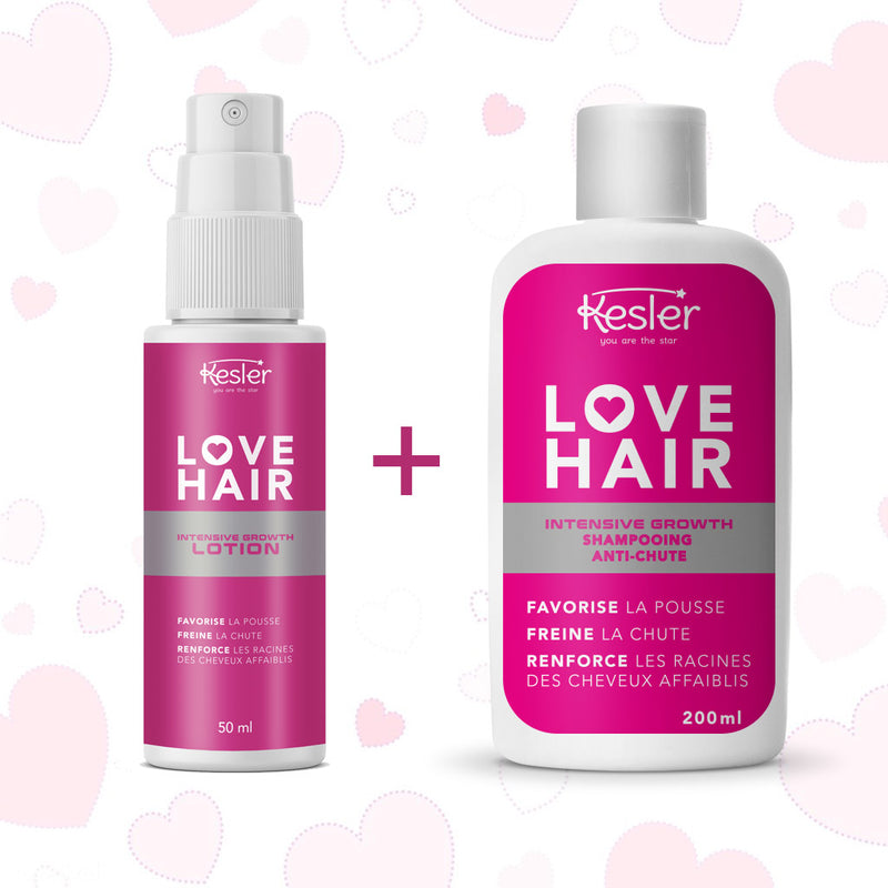 LOVE HAIR - SHAMPOING + LOTION