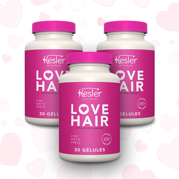 LOVE HAIR - 3 Mois