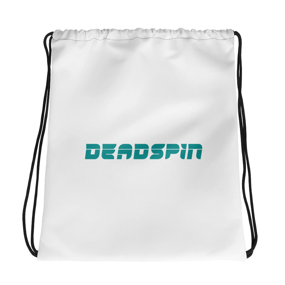 Deadspin Logo Drawstring Bag