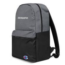 Load image into Gallery viewer, Deadspin Logo Embroidered Champion Backpack