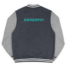Load image into Gallery viewer, Deadspin Logo Letterman Jacket