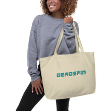 Load image into Gallery viewer, Deadspin Logo Large Tote Bag